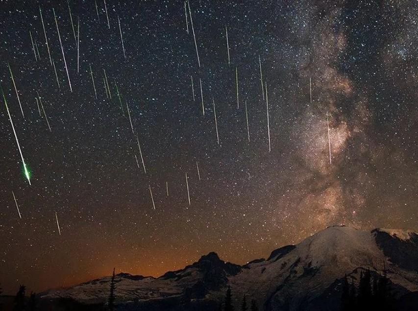Жители Чехова наблюдали пик январского «звездопада»
