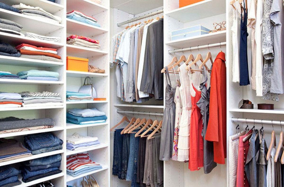 Порядок в шкафу: советы, как справиться с хаосом вещей