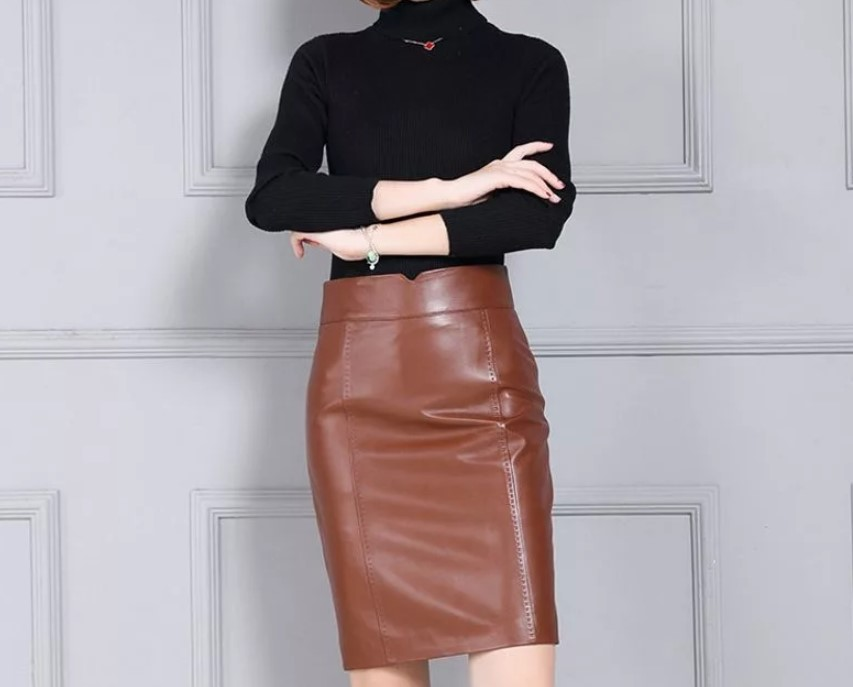 Как и с чем носить кожаные юбки в этом сезоне, чтобы выглядеть модно и привлекательно