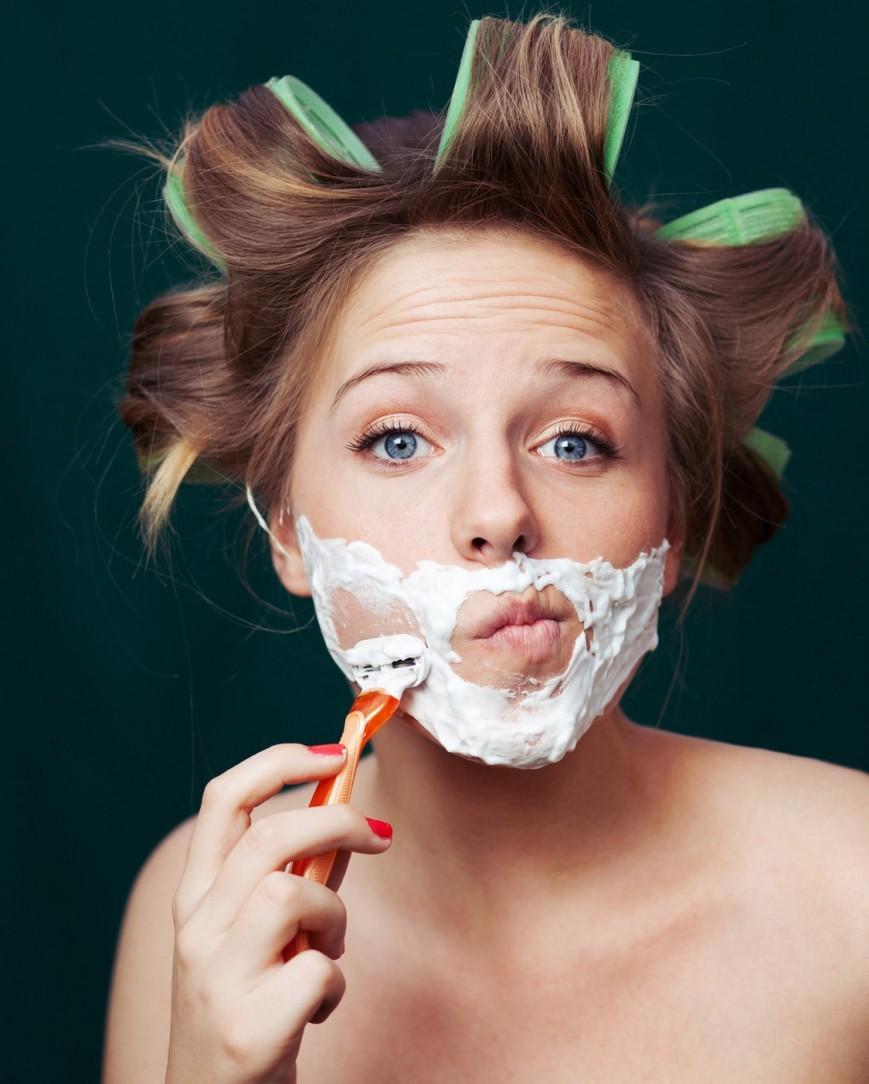 Удаление волос на лице: основные способы
