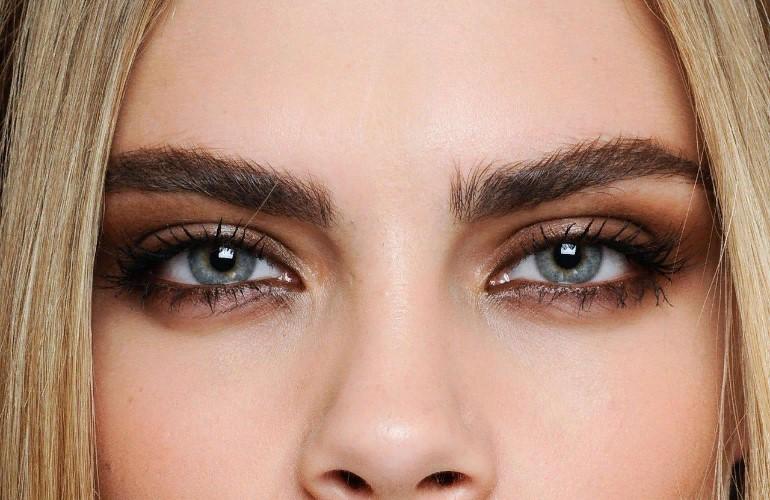 Как подобрать оттенок брови в зависимости от цвета глаз