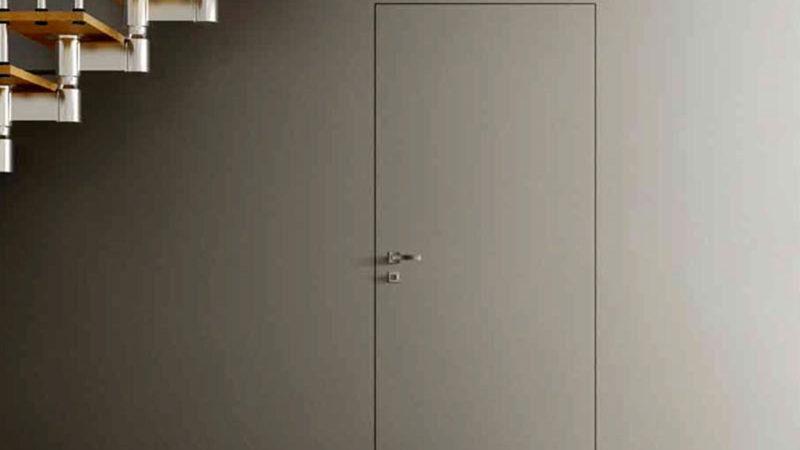 Скрытые межкомнатные двери в интерьере: основные преимущества